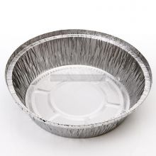 """5 x 7"""" Round Foil Containers (NO LIDS)"""