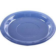 """40 Small 7"""" Clear Plastic Plates"""