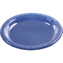 """40 Large 9"""" Clear Plastic Plates"""
