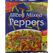 Cream Crop's Mixed Sliced Peppers
