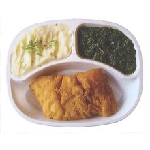 Hermolis Fried Haddock with Vegetables