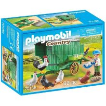 Playmobile Country Farm Chicken Coop (70138)