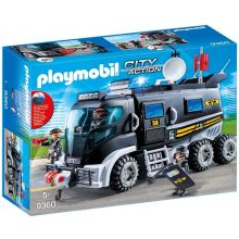 Playmobile SWAT Truck with Working Lights & Sound (9360)