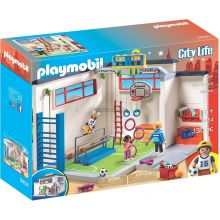 Playmobile Furnished Gym with Score Display (9454)