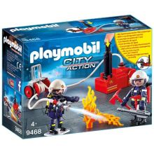Playmobile Firemen with Water Pump (9468)