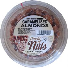 World of Nuts Caramelised Almonds