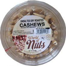 World of Nuts Roasted Unsalted Cashews