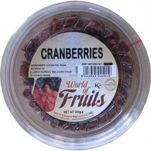 World of Nuts Dried Cranberries