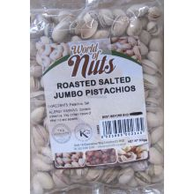 World of Nuts Jumbo Dry Roasted Salted Pistachios