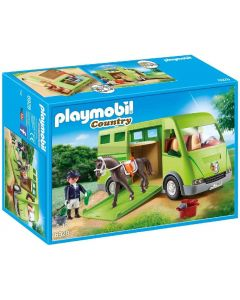 Playmobile Horse Box with Opening Side Door (6928)
