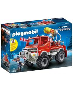 Playmobile Fire Engine with Cable Winch and Foam Cannon (9466)